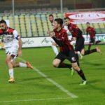 Foggia-Vibonese 1-0 fine primo tempo