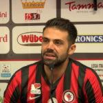 Foggia-Cremonese 0-0 fine primo tempo