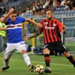 Foggia-Cesena 0-1:fine primo tempo