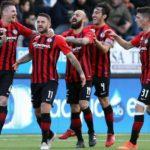 Foggia-Cosenza 1-0:fine primo tempo