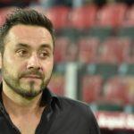 """Foggia, l'ex De Zerbi: """"Avevo più pressioni allo Zaccheria in C che a Sassuolo in A"""""""