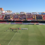 Foggia-Grumentum 0-0:fine primo tempo